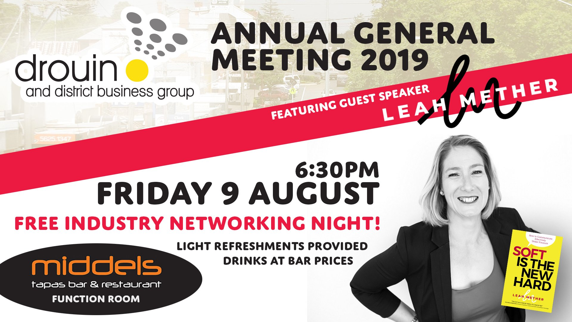 Drouin District Business Group AGM 2019 social media